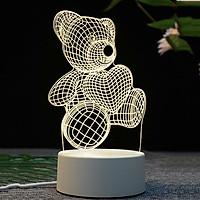 [TẶNG BÚT HOẠT HÌNH TRỊ GIÁ 25K] Đèn ngủ 3D quà tặng độc đáo