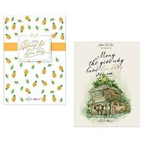 Combo Sách Văn Học Hay:  Mong Em Thật Hung Dữ Cũng Hãy Thật Dịu Dàng + Mong Thế Giới Này Luôn Dịu Dàng Với Em - ( Bản Đăc Biệt - Tặng Kèm 5 Postcard Siêu Dễ Thương )