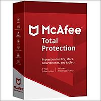 Phần mềm McAfee Total Protection 1PC/1 năm
