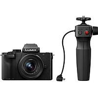 Máy ảnh Panasonic Lumix DC-G100 kit 12-32mm kèm Tripod Grip - Chính Hãng
