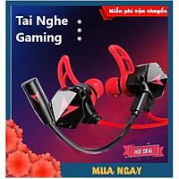 Tai Nghe Gaming 2021 Chống Ồn Cao Cấp XSmart GH5 Gamer Pro Phiên Bản Nâng Cấp sendem S2 , Tặng Bộ Phụ Kiện Mic Rời - Hàng Chính Hãng