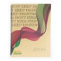 Tập Vẽ Cao Cấp Sketch Book (26x36cm) - Mẫu 1