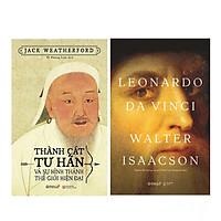 Combo  Leonardo Da Vinci + Thành Cát Tư Hãn Và Sự Hình Thành Thế Giới Hiện Đại