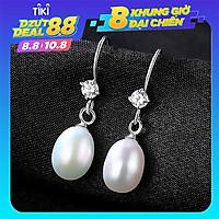 Hoa Tai Ngọc Trai Thật 100% B2369 Bảo Ngọc Jewelry