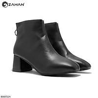 Boots nữ, 5cm, mũi vuông, trơn BOOTS21
