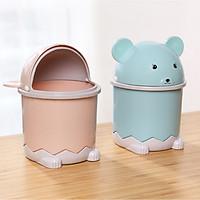 Thùng rác mini để bàn hình chuột Canh Tý độc đáo