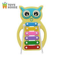 Đồ chơi nhạc cụ- Đàn gõ Xylophone hình cú mèo đáng yêu Toyshouse C601 - Dụng cụ phát triển năng khiếu âm nhạc dành cho bé yêu