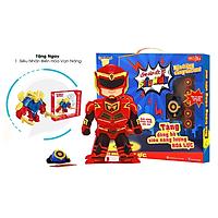 Lồng đèn Trung Thu- Ước Mơ- Siêu Nhân Hỏa Lực - Tặng Kèm Siêu Nhân Biến Hóa Vạn Năng  Transformer 1