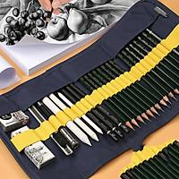 Bộ dụng cụ vẽ phác thảo mỹ thuật 27 in 1 phụ kiện - Vẽ nghệ thuật
