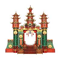 Đồ chơi lắp ghép gỗ 3D Mô hình Nantian Gate HG-J037 Laser