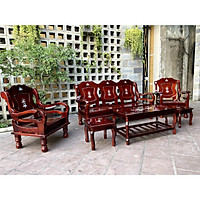 bộ bàn ghế gỗ salon mã lai SMTD05