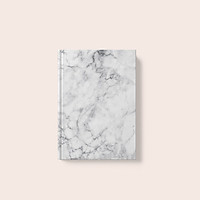 Sổ tay Sketch - Ruột Trơn - Marble Trắng