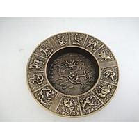 Gạt tàn thuốc hình rồng bằng đồng
