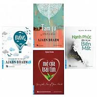 Sách - Combo Ajahn Brahm ( Buông Bỏ Buồn Buông + Mở Cửa Trái Tim + Hạnh Phúc Đến Từ Sự Biến Mất + Tâm Từ) - First News