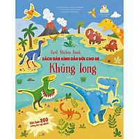 First Sticker Book - Sách Dán Hình Đầu Đời Cho Bé - Khủng Long