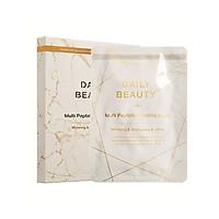 Combo 5 hộp Mặt Nạ Nhau Thai Cừu Daily Beauty Multi Peptide Placenta Mask R&B xuất xứ LB Cosmetic Hàn Quốc, cấp ẩm, dưỡng trắng, ngừa lão hóa, mờ nám tàn nhang, sạch mụn, phục hồi tổn thương