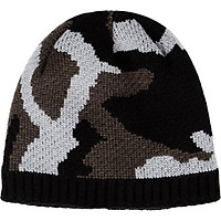 New Winter Unisex Softable Knit Bonnet Elasticity Skullies Beanie Cap Thick Plush Lining Warm Windproof Skiing Knitted Beanie Hat