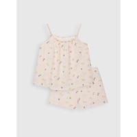 Bộ đồ bé gái 100% cotton CANIFA - 1LS21S001