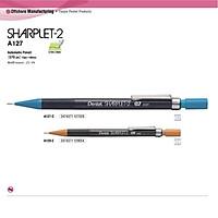 Bút chì kim kỹ thuật Pentel thân nhựa trong 0.7/0.9mm - A127/A129