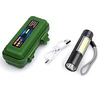Đèn pin siêu sáng mini 2in1