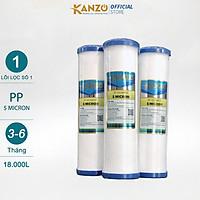 Lõi Lọc Nước Số 1 Kanzo - PP5 Micron - Hàng Chính Hãng
