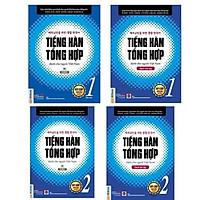 Combo Trọn bộ Tiếng hàn tổng hợp sơ cấp 1 & 2 + Sách bài tập - Bản 2 màu NHH
