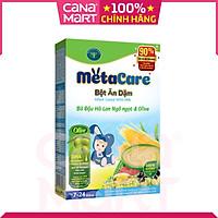 Bột ăn dặm tốt cho bé Nutricare Metacare Bò Đậu hà lan Ngô ngọt & Olive (200g)