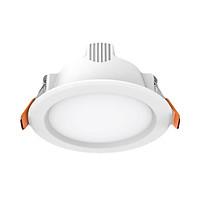 Đèn LED âm trần tròn Downlight MPE DLE-6W - Công nghệ Đức - Tiết kiệm điện - Ánh sáng trung thực - Trắng/ Vàng 2800-6500K - Khoét lỗ D75 - Không phát tia cực tím - Driver tích hợp nhỏ gọn