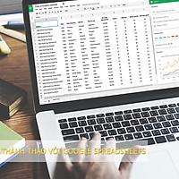 Khóa Học Thành Thạo Với Google Spreadsheets | cashback.com.vn