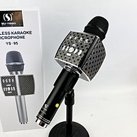 Micro karaoke bluetooth SuYosd YS 95 - Micro kèm loa karaoke - Kết nối bluetooth, USB, SD - Âm thanh cực hay, bắt giọng cực tốt, không hú rè - Tích hợp thu âm - Giao màu ngẫu nhiên - Hàng chính hãng