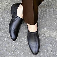 Giày da nam màu đen mã CS.01