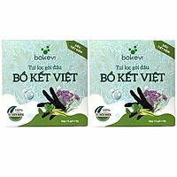 2 Hộp Túi Lọc Gội Đầu Bồ Kết Việt ( dòng siêu tiết kiệm )