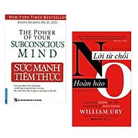 Combo làm chủ chính mình : Sức mạnh tiềm thức - The power of your subconscious mind + Lời từ chối hoàn hoàn - No the power a positive - Tặng kèm Postcard GREEN LIFE