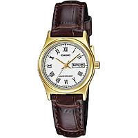 Đồng hồ Casio nữ dây da LTP-V006GL-7BUDF (25mm)