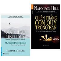 Combo 2 cuốn sách hay về kĩ năng sống: Cởi Trói Linh Hồn + Chiến Thắng Con Quỷ Trong Bạn ( Tặng kèm Bookmark Happy Life)