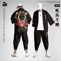 Set đồ Haori nam Kimono Yunhe Jiuxiao phong cách Nhật Bản siêu chất BSK05