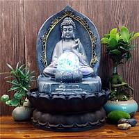 Thác Nước Phong Thủy Đức Phật Tổ Tịnh Thiền PTI20