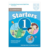 Cambridge Young Learner English Test Starters 1: Student Book