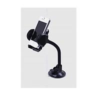 Giá đỡ điện thoại sử dụng trên ô tô (Màu đen) - Tặng kèm đèn pin bóp tay mini