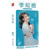 Postcard IU lee Ji Eun gồm nhiều ảnh và hình dán ấn tượng