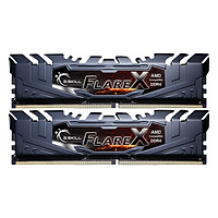 Bộ 2 Thanh RAM PC G.Skill F4-2133C15D-16GFX Flare X 8GB DDR4 2133MHz UDIMM - Hàng Chính Hãng
