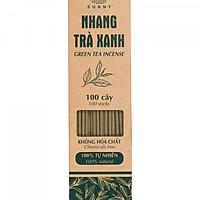 Nhang (hương) sạch trà xanh Sunny