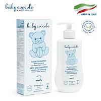 Sữa tắm gội chiết xuất hoa sen Babycoccole 250ml 0M+