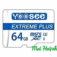 MicroSDXC 64GB Yoosee U3 Class10 - Camera