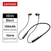 Lenovo XE05 Neck-type Bluetooth Headset Sports Waterproof Long Standby Earphones