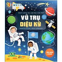 Cuốn sách rất thích hợp để trẻ vừa học vừa chơi: Sách tương tác vừa học vừa chơi - Vũ trụ diệu kỳ
