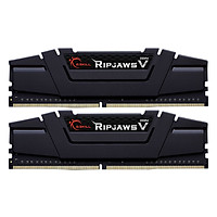 Bộ 2 Thanh RAM PC G.Skill F4-3200C16D-16GVKB Ripjaws V 8GB DDR4 3200MHz UDIMM XMP - Hàng Chính Hãng