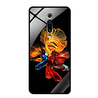 Ốp lưng Kính Cường Lực cho Xiaomi Mi 9T Pro - 0128 FISH07 - Hàng Chính Hãng