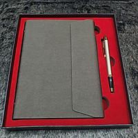 Bộ Giftset Sổ & Bút Ký Bi Parker IM Brushed Metal Dành Cho Doanh Nhân Thích Hợp Làm Qùa Tặng Cho Sếp,Qúy Nhân
