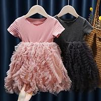 combo 2 Cô gái mùa hè váy đầm công chúa-Một mảnh cho mỗi phong cách, tổng cộng 2 mảnh
